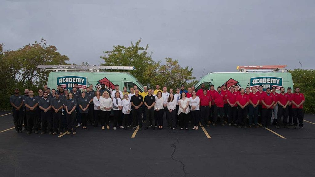 Academy Air Full Staff photo - home page