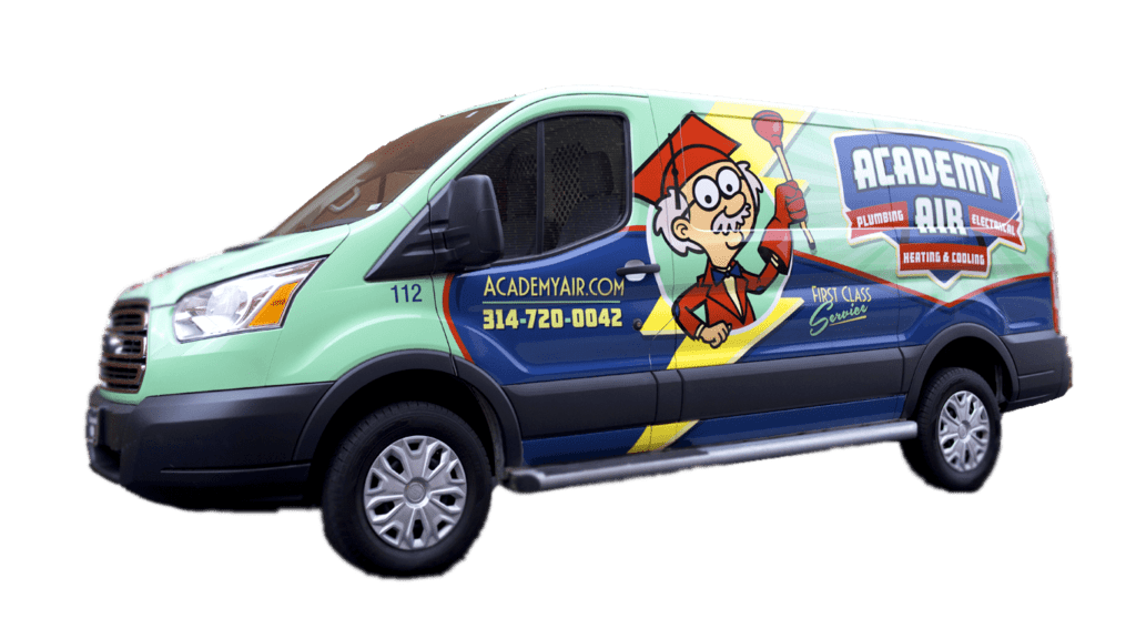 Truck image - contact us academy air