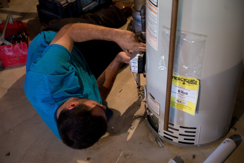 Water Heater repair tech - Academy Air Customer Reviews & Testimonials